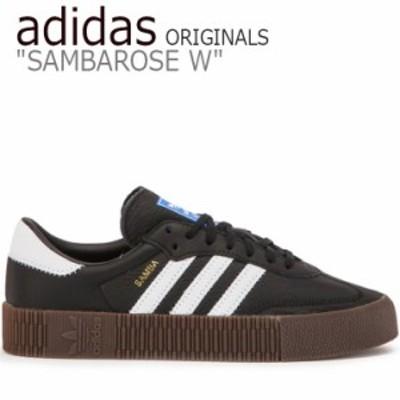 アディダス オリジナルス スニーカー adidas ORIGINALS SAMBAROSE W オリジナルス サンバローズ BLACK WHITE B28156 シューズ