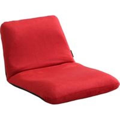 ホームテイストホームテイスト Leraar-リーラー- 座椅子 リクライニング Sサイズ 起毛 レッド SH-07-LER-S 1脚(直送品)