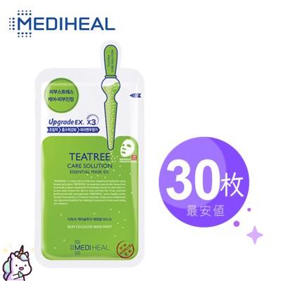 Mediheal メディヒール ティーツリーケアソリューション・エッセンシャル・マスクパック10枚入り3箱2箱 / Teatree NMF Vita Collagen Placenta WHP