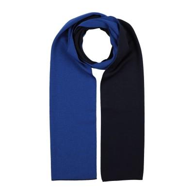 NINO COLOMBO マフラー ブルー ウール 100% マフラー