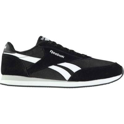 リーボック Reebok メンズ スニーカー シューズ・靴 Royal Classic Jogger 2 Trainers Black/White