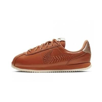 ナイキ NIKE コルテッツ CORTEZ GS Basic Premium Embroidery Sneakers Casual Shoes Running AV1336-200 カジュアル ランニング スニーカーDusty Peach White