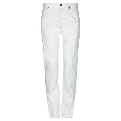 トラマロッサ TRAMAROSSA パンツ ホワイト 32 コットン 97% / ポリウレタン 3% パンツ