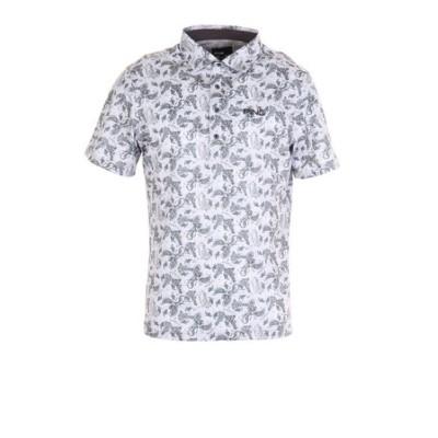 ピン(PING)ショートスリーブ鹿の子ポロシャツ 621-1160002-020