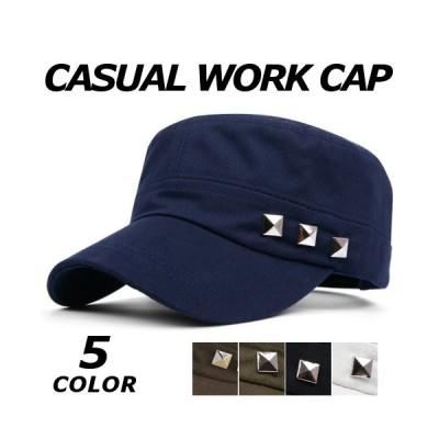 ワークキャップ メンズ ミリタリー カープキャップ 男女兼用 帽子 キャップ おしゃれ