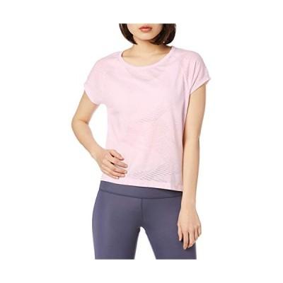 リーボック 半袖 Tシャツ バーンアウトTシャツ GLR06 レディース ピクセルピンク(FK7057) 日本 J/XOT (日本サイズ3L