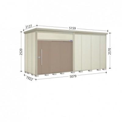 物置 屋外 おしゃれ タクボ物置 JN/トールマン JN-5019 一般型 標準屋根 『追加金額で工事可能』 カーボンブラウン