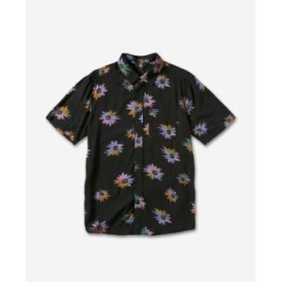 ボルコム メンズ シャツ トップス Men's Pleasure Cruise Short Sleeve Shirt Black