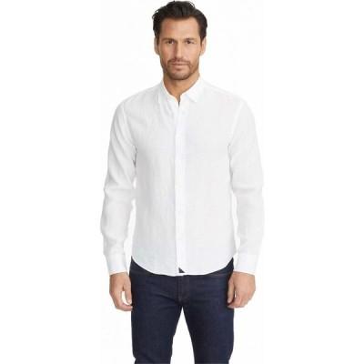 アンタックイット UNTUCKit メンズ シャツ トップス Wrinkle-Resistant Linen Shirt White
