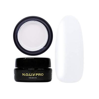 NOUV PRO(ノーブプロ)カラージェルネイル 4g 日本製 化粧品登録 (TR シアーホワイト)