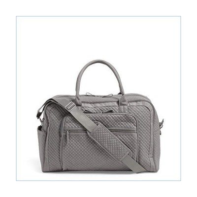 Vera Bradley Women's Denim Weekender Travel Bag, Denim Gray並行輸入品