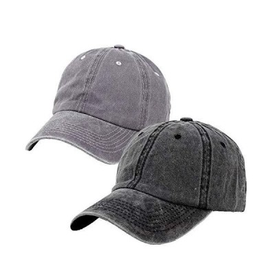 Ponytail Baseball Cap, Vintage Washed Messy High Bun Trucker Dad Hats for W