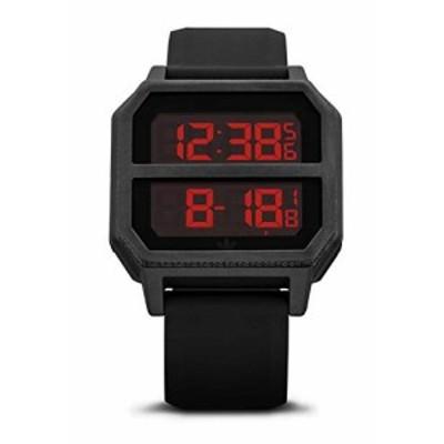 Adidas Mens Archive R2 Z16 760-00 Black Silicone Quartz Fashion Watch