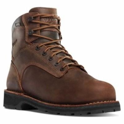 ダナー レインシューズ・長靴 Workman 6 Alloy Toe Work Boot Brown Oiled Leather/Full Grain Leather