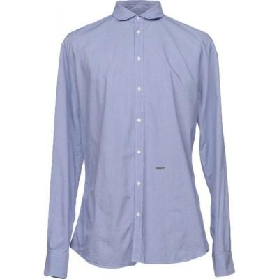 ディースクエアード DSQUARED2 メンズ シャツ トップス patterned shirt Blue