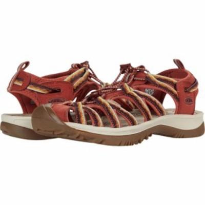 キーン KEEN レディース サンダル・ミュール シューズ・靴 Whisper Redwood