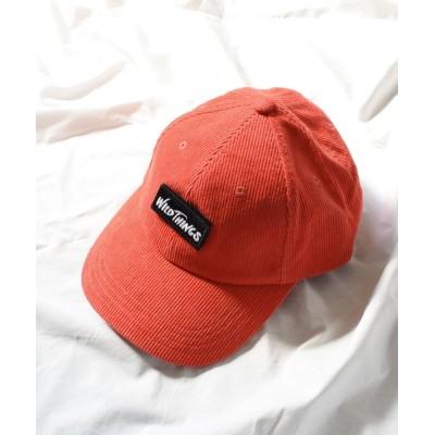 """帽子 キャップ WILD THINGS"""" CORDUROY BASE BALL CAP"""