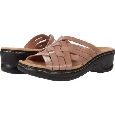 クラークス Clarks レディース サンダル・ミュール シューズ・靴 Lexi Selina Dusty Pink Leather