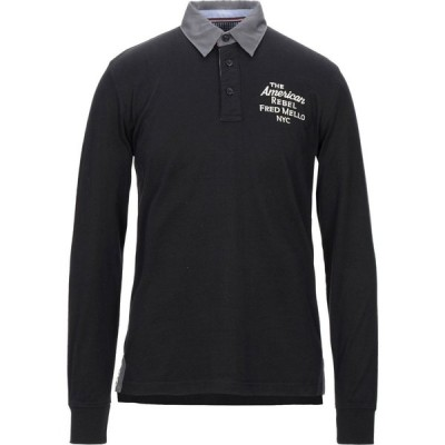 フレッド メロー FRED MELLO メンズ ポロシャツ トップス polo shirt Black