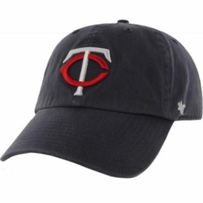 フォーティセブン 47 メンズ キャップ 帽子  Minnesota Twins Navy Clean Up Adjustable Hat
