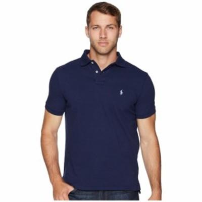 ラルフ ローレン Polo Ralph Lauren メンズ ポロシャツ トップス Slim Fit Pique Polo Newport Navy
