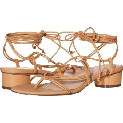 ジェイクルー J.Crew レディース サンダル・ミュール レースアップサンダル シューズ・靴 Leather Lace-Up Strappy Alyssa Sandal Vachetta