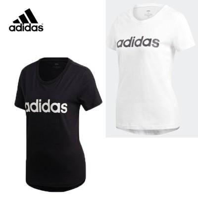 アディダス レディース Tシャツ エッセンシャルズ リニア Tシャツ FRU56 ランニング トレーニング スポ—ツウェア