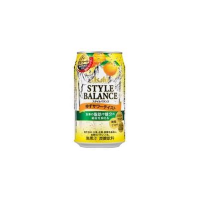 アサヒ スタイルバランスプラス ゆずサワーテイスト ノンアルコール [機能性表示食品] 350ml×24缶(1ケース)