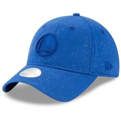 ニューエラ 帽子 アクセサリー レディース Golden State Warriors New Era Women's Sparkle 9TWENTY Adjustable Hat Royal