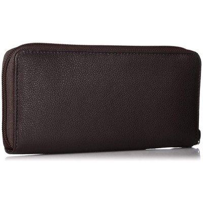 ミチコロンドン ラウンドファスナータイプ 長財布 ロングウォレット レディス カードポケット17枚 お札仕切りあり 本革 MJ5975 ダー