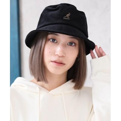 CORPUS TOKYO / 【KANGOL/カンゴール】コーデュロイ ワンポイントロゴバケットハット MEN 帽子 > ハット