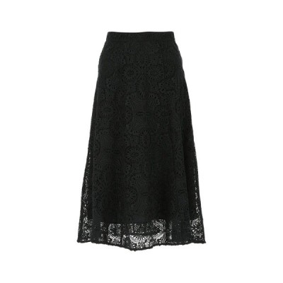 マイケルコース レディース スカート ボトムス Michael Michael Kors Lace A-Line Midi Skirt -