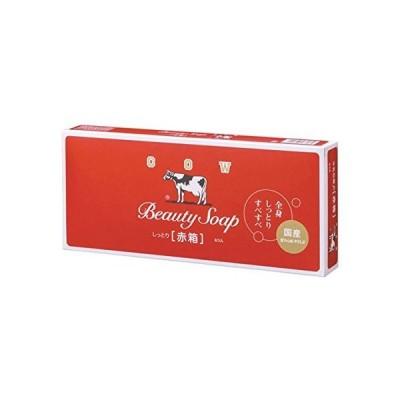 【お徳用 6 セット】 カウブランド 牛乳石鹸 赤箱 100g×6個入×6セット