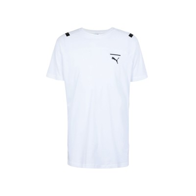プーマ PUMA T シャツ ホワイト XXL コットン 100% T シャツ
