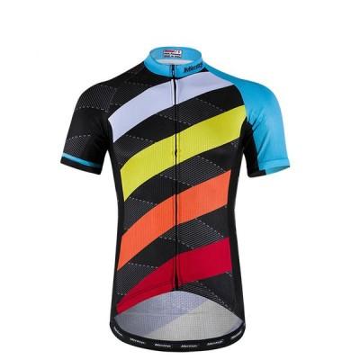 サイクルジャージ メンズ 自転車ウエア 短袖 サイクリングウェア スポーツ 短袖 サイクルジャケット速乾吸汗 通気がいい K00333