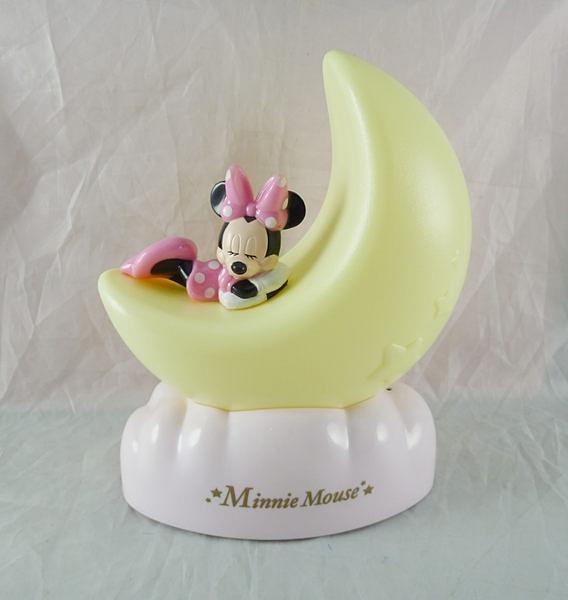 【震撼精品百貨】Micky Mouse_米奇/米妮 米老鼠~夜燈-月亮米妮【共1款】