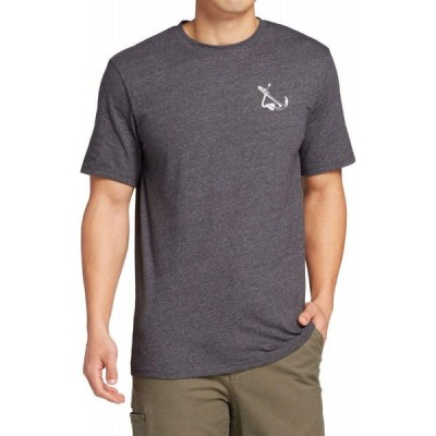 フィールドアンドストリーム Field & Stream メンズ Tシャツ トップス Fishing Graphic T-Shirt Asphalt Heather
