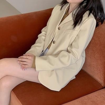 2020秋のウエスタンスタイルは薄くビッグネームの穏やかな色のスーツジャケットメス2136