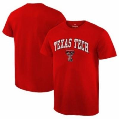 Fanatics Branded ファナティクス ブランド スポーツ用品  Fanatics Branded Texas Tech Red Raiders Red Campus T-Shirt