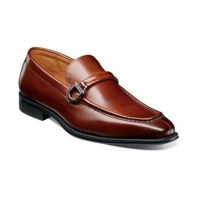ステイシーアダムス メンズ スリッポン・ローファー シューズ Men's Pernell Moc Toe Ornament Slip On Loafers