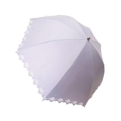 Geecle Japan(ギークルジャパン) ギークルジャパン 折りたたみ傘 一級遮光 裾オーガンジー グレー