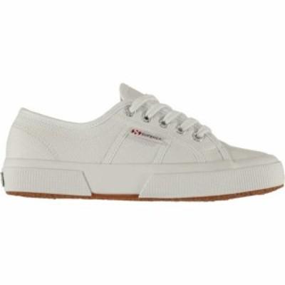 スペルガ Superga レディース スニーカー シューズ・靴 2750 leather trainers White
