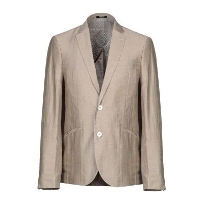 OFFICINA 36 テーラードジャケット ベージュ 46 麻 48% / レーヨン 41% / ナイロン 11% テーラードジャケット