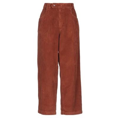 スーベニア SOUVENIR パンツ 赤茶色 XS コットン 100% パンツ