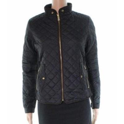 ファッション 衣類 CEsttoi NEW Black Lightweight Quilted Women Size Small S Zip Up Jacket