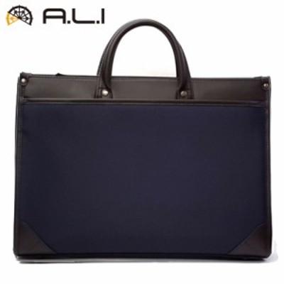 【送料無料】A.L.I ビジネスバッグ ビジネスカジュアル RAMBLE AD-3133-NV ネイビー