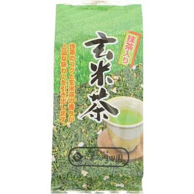 岡田園 国産 抹茶入り玄米茶 180g