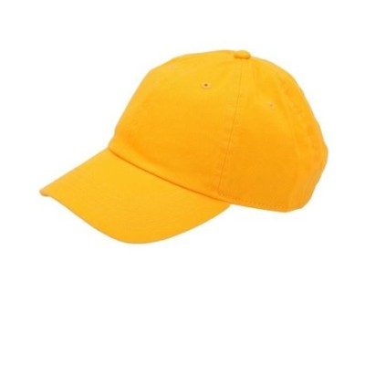 NEWHATTAN ニューハッタン #1400 stonewash Baseball Caps solid