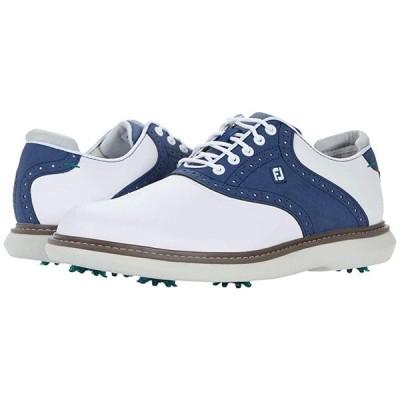 フットジョイ Traditions メンズ スニーカー 靴 シューズ White/Blue