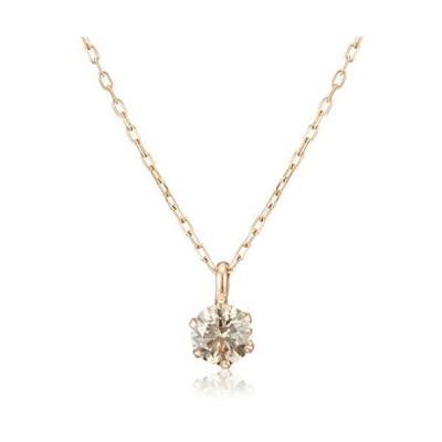 ディーコレクション ダイヤモンド 0.3ct ピンクゴールド K18 ネックレス DS20153PG